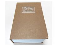 Wholesale Hard Paper Dictionary Safes Box Book Safes Diversion Secret Stash Safe Cash Box