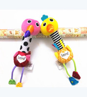Wholesale Lamaze Stuffed Plush Baby Toys Educational kid Toy Flamingos and ostrich