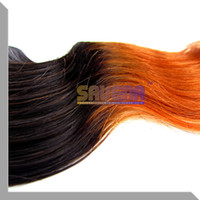Cheap Fashion Hot Sale Ombre Hair Extension Brazilian Ombre Body Wave Hair Weft Queen Body Wave Hair Products 1pcs Lot 14-24inch 1B#350 Color
