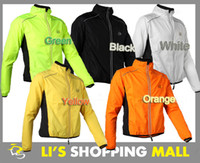 Sets Anti-UV Spandex / Nylon Tour de France Cycling Sports Men Riding Breathable Reflective Jersey Cycle Clothing Long Sleeve Wind Coat Jacket (5 Color)