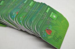 Wholesale 2014 new arrival mm Nano Health Card Energy Nano Card more then cc bio energy fir negative ion card