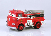 5-7 Years Car Metal Free Shipping Pixar Cars RED Shy Fire Truck 1 55 Diecast Vehicle For Child Boy Toy