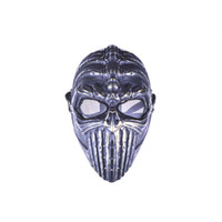 Wholesale Tactical Spine Tingler Skull Skeleton Army Airsoft Paintball Gun Full Face Game Safe Protect Mask Black