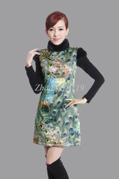Wholesale GDSDS Chinese Women s Traditional Women s Evening Dress Cheongsam Size S XL HUKL