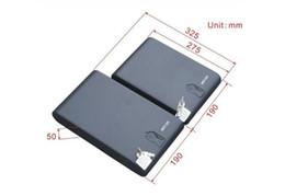 Wholesale New fingerprint safe biometric box vault bio box jewlery box Pistol gun safe box Bg