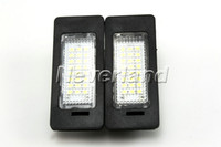 Wholesale Neverland LED License Plate Light Error Free Fit For Audi A4 A5 Q5 S5 TT