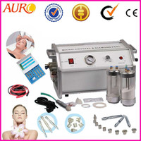 CE AU-8304A 220V/110V Christmas promotion 9 Tips Heads Crystal and Diamond Microdermabrasion Beauty Machine CE Approval AU-8304A
