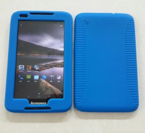 Buy 7 inch silicon rubber shock proof case cover skin protective shell Lenovo A1000 anti