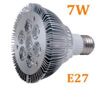 Wholesale New Ultra bright W Par with led LEDS Lamp V led Bulb lights E27 Spotlight edison2011