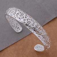 Wholesale New Coming New Design Fashion Charming Silver Plated Bracelet Bracelets Bangle AS077