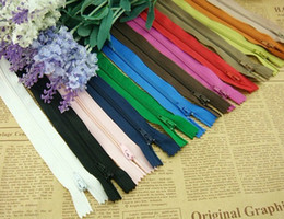 Wholesale 100x cm Assorted Color Nylon Zippers Coil Closed Clothes Tailor Sewing Craft