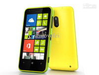 Wholesale New Lumia Original Lumia unlocked mobile phone dual core MP WIFI Inch GPS Windows OS GB ROM RAM
