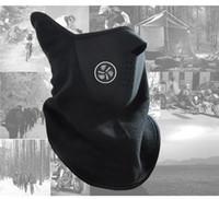 Wholesale 3 Colors Neoprene Snowboard Warm Hat Face Mask Veil Snow Sport Helmet Veil Bike Ski Neck Warmers Face Mask