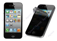 Wholesale Privacy Anti spy Screen Protector Guard Shield Film for Apple iPhone G S