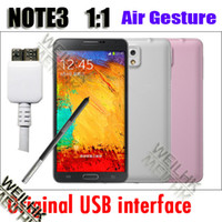 5.7 Android 4.3 1G Note 3 iii N9000 Air Gesture Eye Funtion MTK6589T 1.5GHz Quad Core Android 4.3 phone 5.7 inch IPS Screen 8GB ROM GA0606