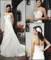 Garden Autumn/Spring Modern Custom Made Beaded Sequins Sweetheart Neckline Sleeveless White Wedding Dresses Sweep Train Lace-Ups Bridal Gowns High Quality Inexpensive