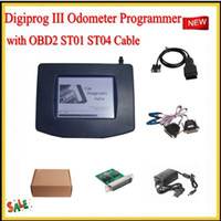 best discount codes - Best Price Main Unit of Digiprog III Odometer Programmer with OBD2 ST01 ST04 Cable DHL EMS Fast Shipping With discount