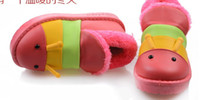 Winter Snow Boots Ankle 2013 children new PU boots wholesale cartoon stereo caterpillar's shoes
