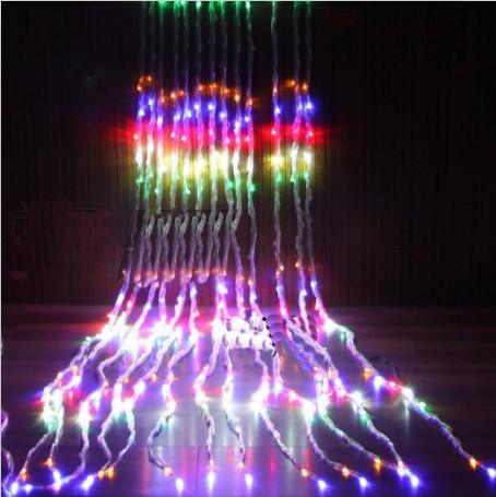 Led light string 3 3 m waterfall high quality outdoor for Quality outdoor christmas decorations