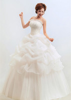 affordable maternity wedding dresses - White Wedding Dress for Pregnant Woman Ruffle Design on Bottom Strapless Backless Stretch Fit Good Quality at Affordable Price W11