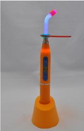 Wholesale Dental W Wireless Cordless LED Curing Light Lamp mw Orange