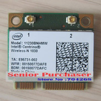 al por mayor intel pci inalámbrico mini-300M para intel Centrino 11230BNHMW inalámbrico-N 1030 WiFi + Bluetooth 3.0 Combo Tarjeta inalámbrica wifi mini pci-e mini pci expresar adaptador