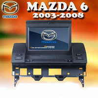"MP3/MP4 Players In-Dash Mazda 7"" Car DVD Player with GPS navigation for MAZDA 6 ( 2003 - 2008 ) Mazda Wagon Sport Sedan TV Bluetooth H606"