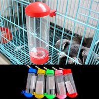 Pet Auto Water Dispenser Indoor Ceramic Pet Dog Cat Auto Water Dispenser Rabbit Puppy Hang Bottle Feeders Drinker