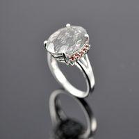 Cheap Women's ruby quartz Best Gift Sterling Silver rutilated quartz