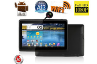 Wholesale 7 inch Q88 Allwinner A13 Tablet PC capacitive screen Android OS WiFi Dual Camera MB GB MID