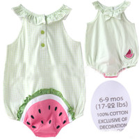 Girl Summer 100% Cotton 2013 New Summer Princess Baby girl Cute Butterfly watermelon Sleeveless vest sling Romper Onesies Bodysuit triangle girl rompers,JU119
