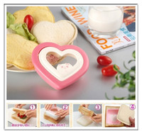 Wholesale Heart Shape Sandwich Bread Cake Toast Maker DIY Tool Mold Mould Cutter