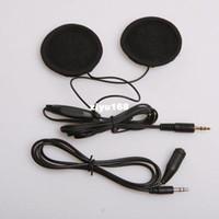 Monitor bicycle helmet speakers - car bicycle Audio Motorcycle Bike Helmet Headphones Speaker FM Stereo for Music iPod Pad Phone Mp3 Radio