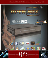 Wholesale Openbox S6000 HD S6000HD DVB S2 Engima2 OS OpenPLi BCM YouTube PVR amp Upgrating openbox hd s6000