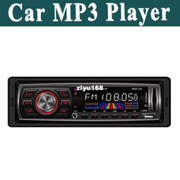 Wholesale - Free Shipping Car MP3 Player car player with USB port SD card slot FM radio