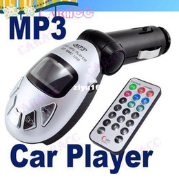 Wholesale - Powerful Silver Car MP3 Player Wireless FM modulator Transmitter USB SD MMC Slot 1267