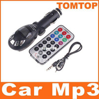 Wholesale Car MP3 Player support SD card amp USB with FM Transmitter Remote Control Whole