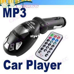 Wholesale - High Quality New Black Car MP3 Player Wireless FM Transmitter USB SD MMC Slot 1268