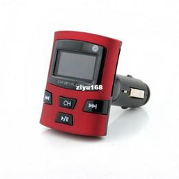 Wholesale Newest Car FM Transmitter Modulation For Car MP3 Player Ipod SD MMC Slot USB