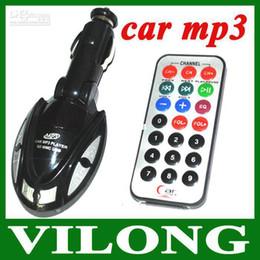 Wholesale - Car MP3 Player Foldable FM Transmitter for USB SD MMC Slot