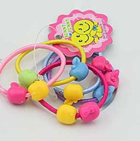 Wholesale lovely chilld hair rubber band hair rope accessory