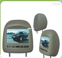 Wholesale car inch widescreen lcd headrest monitors for toyota highlander cheap with Display method TFT Active m