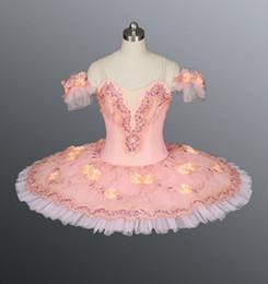 Wholesale Hot Sale Adult Ballet Tutu Ballerina Dresses TUTU Pink Professional Ballet Tutu Girls Classical Ballet Tutu Tutu Dresses Skirt BT8978