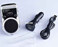 Wholesale Bluetooth Car Kit Handsfree FM MP3 Player Solar Powered