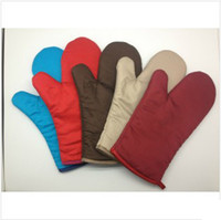 Wholesale 10 pairs classic microwave oven gloves heat insulating gloves kitchen gloves