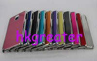 For Samsung Metal  Bling Brushed Aluminum Metal Case For Iphone 6 Samsung Galaxy Note 3 III Note3 N9000 Galaxy S5 S4 S3 Z1MINI HTC ONE2 M8 Hard Back Skin Cover