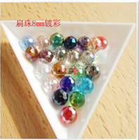 Wholesale DIY Jewelry marking mixed AB Color Loose mm mm Swarovski crystal Rondelle Beads