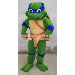 Wholesale New Custom made Teenage Mutant Ninja Turtles adult size Cartoon Mascot Costume Fancy Dress Party Suit
