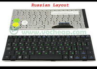 Wholesale New and Original Laptop keyboard for ASUS EeePC Eee PC SD hd A G G G Series Black Russian RU Version MP C63S