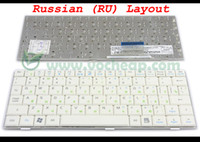 Wholesale New Laptop keyboard for ASUS EeePC Eee PC SD hd A G G G Series White RU Russian Version MP C63SU